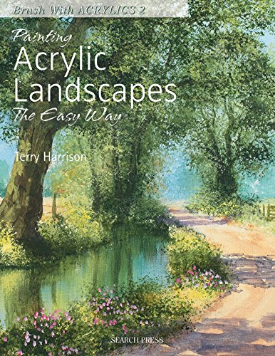 9781844484669: Painting Acrylic Landscapes the Easy Way (Brush With Acrylics)