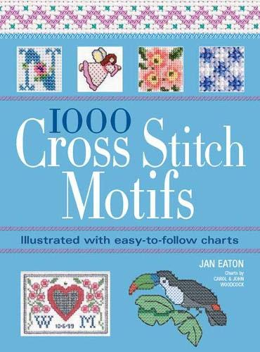 9781844485123: 1000 Cross Stitch Motifs: Illustrated with Easy-to-Follow Charts