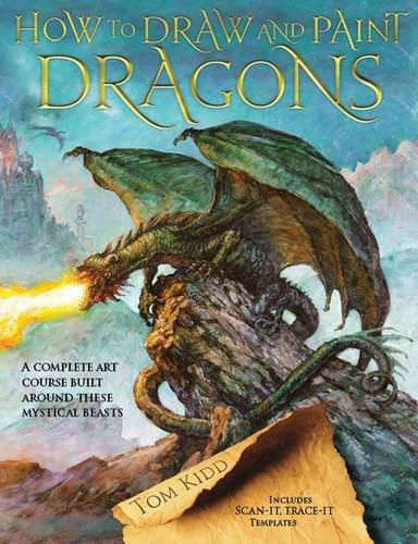 9781844485413: How to Draw and Paint Dragons (How to Draw & Paint)