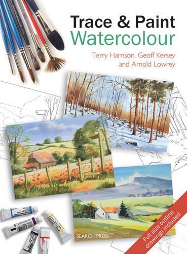 9781844485529: Trace & Paint Watercolour
