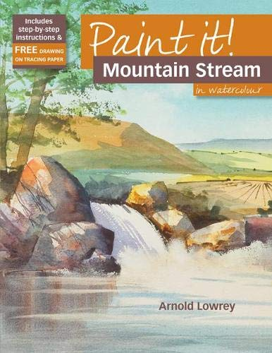 9781844485673: Paint It! Mountain Stream in Watercolour