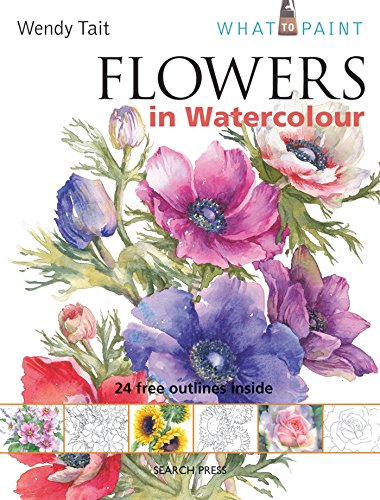 9781844486588: Flowers in Watercolour (What to Paint)