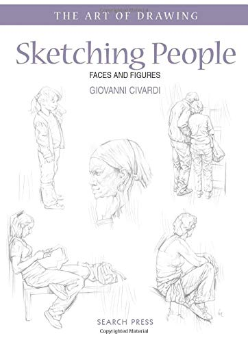 9781844486830: Sketching People: Faces and Figures (Art of Drawing)