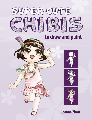 9781844486885: Super-Cute Chibis to Draw and Paint