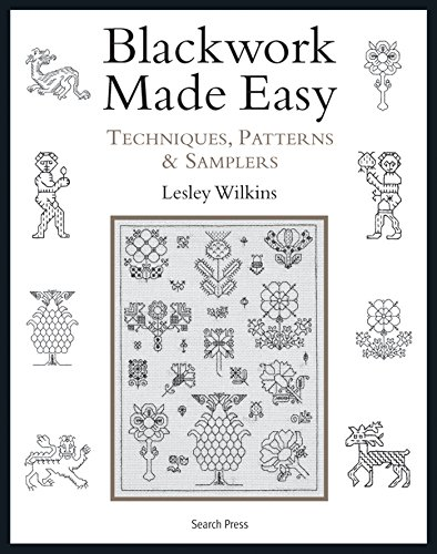 9781844487530: Blackwork Made Easy: Techniques, Patterns and Samplers