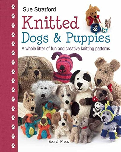 Search Press Books-Knitted Dogs & Puppies: Harry Hill