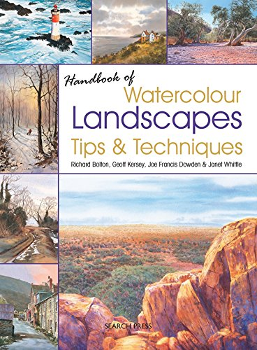 9781844489619: Handbook of Watercolour Landscapes Tips & Techniques