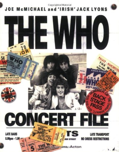 9781844490097: The Who Concert File (Talking)