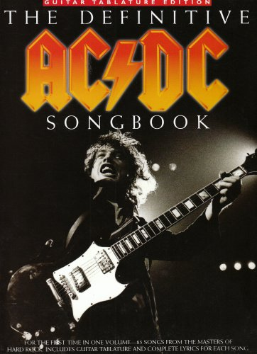 9781844490257: The Definitive Ac/DC Songbook Tab