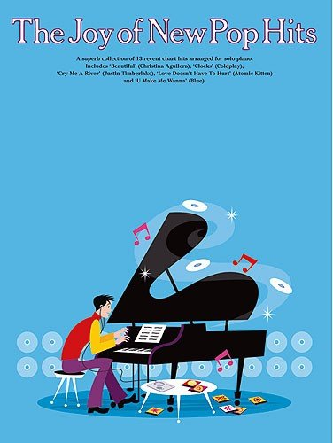 9781844490400: The Joy of New Pop Hits Piano, Voix, Guitare