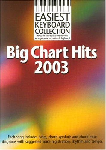 9781844490882: Easiest Keyboard Collection Big Chart Hits 2003 Mlc