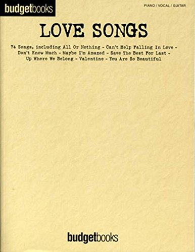 9781844491117: Budgetbooks: Love Songs