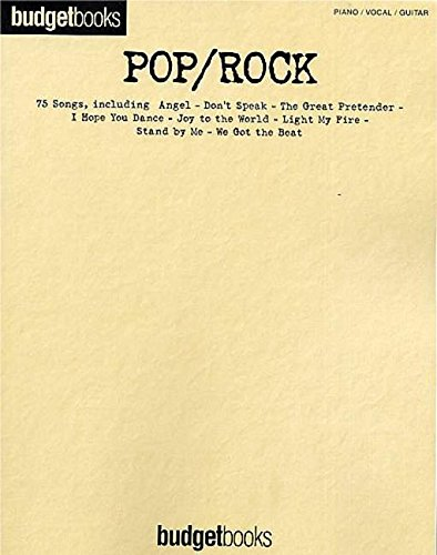 9781844491131: Budgetbooks: Pop / Rock