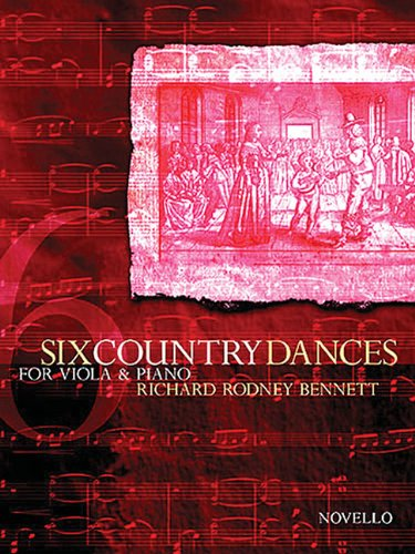 9781844491643: 6 Country Dances: Viola and Piano Accompanimnet