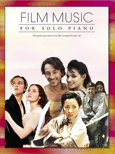 Film music for solo piano: Div Komponisten