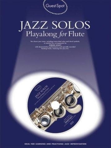 9781844494477: Guest Spot for Flute: Jazz Solos (Guest Spot)