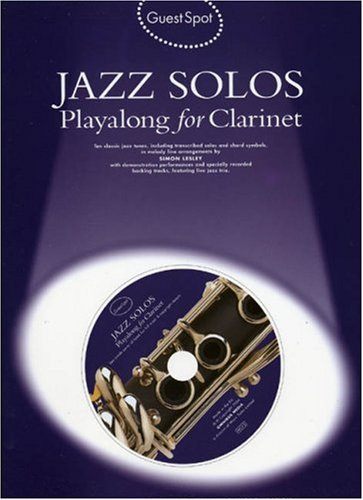 9781844494484: Guest Spot: Jazz Solos Playalong For Clarinet + cd