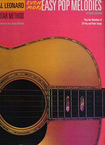 9781844494934: Hal Leonard Guitar Method: Even More Easy Pop Melodies