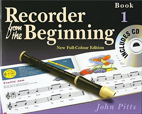 9781844495184: REC FROM BEGIN COLOR ED PUPILS BK 1 2004 BK/CD (Recorder from the Beginning)