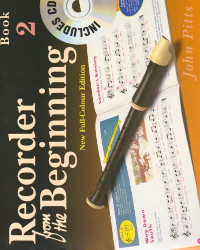 9781844495191: RECORDER FROM THE BEGINNING BOOK 2 FULL COLOR EDITION BK/CD (Bk. 2)