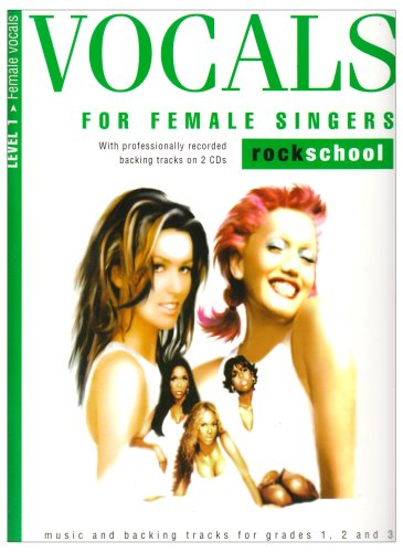 9781844495511: Vocals for Female Singers Level1 Rocksch (Book & 2cds)