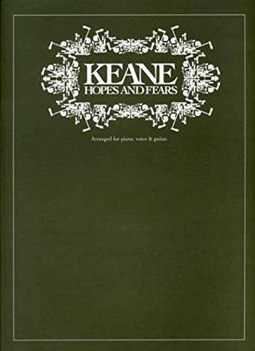 9781844495665: Keane: Hopes and Fears Piano, Voix, Guitare: