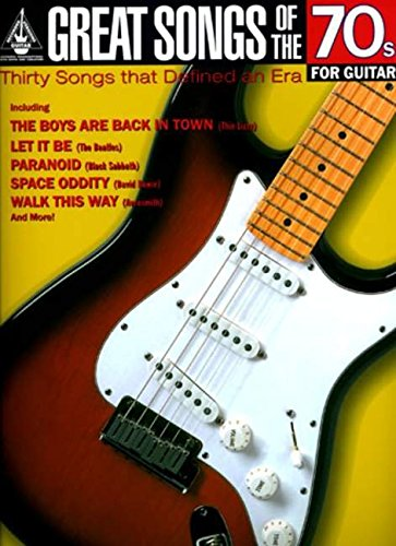 9781844495818: Great Songs of the 70s for Guitar (Great Songs of)