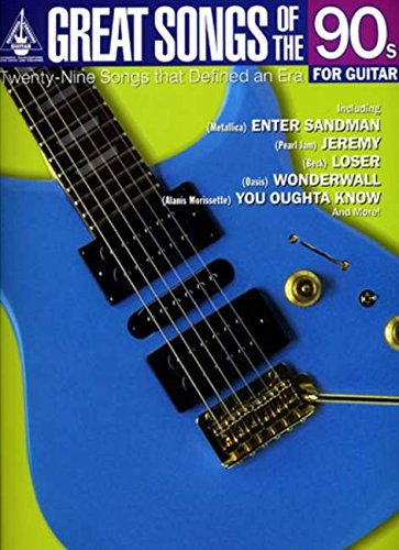 9781844495832: Great Songs of the 90s for Guitar (Great Songs of)