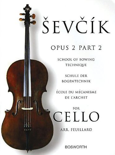 9781844495917: Sevcik Cello Studies: School Of Bowing Technique Part 2