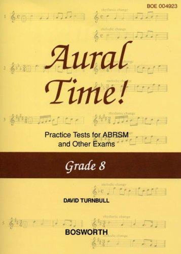9781844496853: David Turnbull: Aural Time! Practice Tests - Grade 8