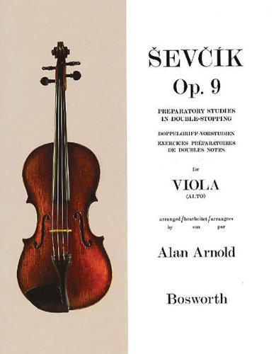 9781844497591: Sevcik viola studies: preparatory studies in double-stopping op.9 (Sevcik Violin Studies)