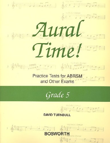 9781844498437: AURAL TIME PRACTICE TESTS FORABRSM AND OTHER EXAMS GRADE 51995 REVISIONS PIANO