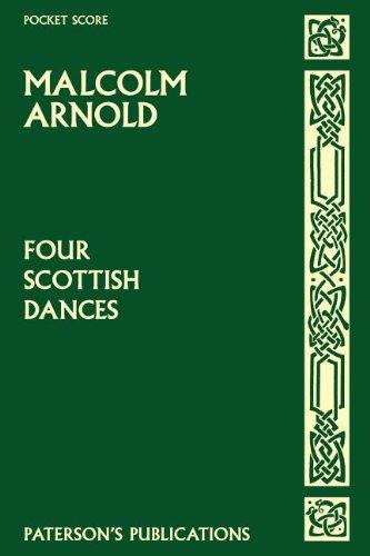 9781844498574: FOUR SCOTTISH DANCES OP59 STUDY SCORE