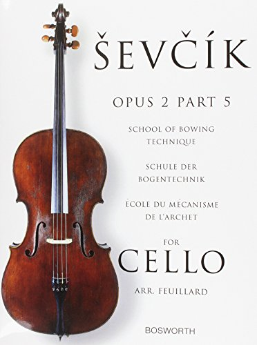 9781844499397: Sevcik Cello Studies: Part 5: School of Bowing Technique