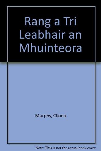 Rang a Tri Leabhair an Mhuinteora: Cliona Murphy, Helena Jeffrey