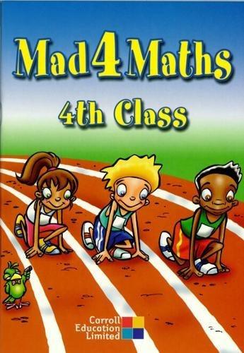 9781844501441: Mad 4 Maths - 4th Class