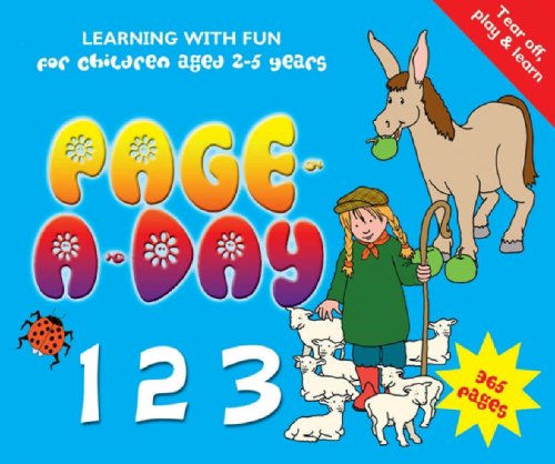 Page-a-Day 123: Learning with Fun for Children Aged 2-5 Years: Flame Tree Publishing