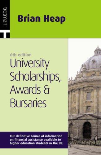 9781844550791: University, Scholarships, Awards and Bursaries