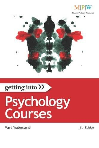 9781844552269: Getting Into Psychology Courses (Getting Into series)