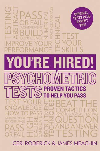 9781844552306: You're Hired! Psychometric Tests: Proven tactics to help you pass