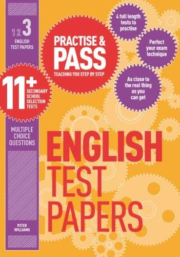 9781844554270: Practise & Pass 11+ Level Three: English Practice Test Papers
