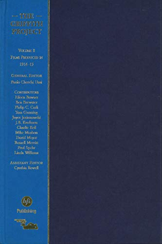 The Griffith Project: Films Produced in 1914 v. 8: Films Produced in 1914 (Hardback)