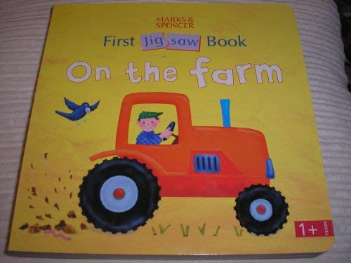 First Jig Saw Book on the Farm: Anon