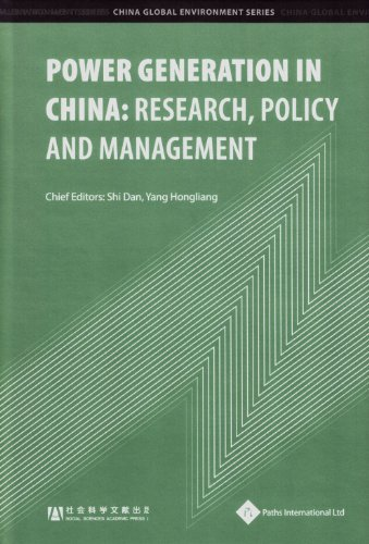 9781844643356: Power Generation in China: Research, Policy and Management (China Global Environment)