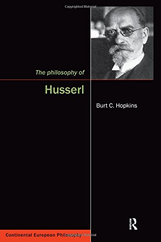 9781844650101: The Philosophy of Husserl (Continental European Philosophy)