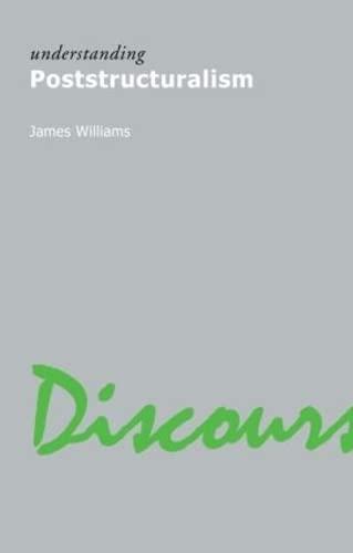 Understanding Poststructuralism (Hardcover): James Williams