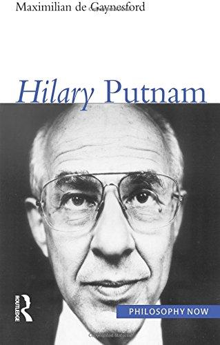 9781844650408: Hilary Putnam (Philosophy Now)