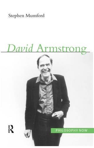 9781844650996: David Armstrong (Philosophy Now)
