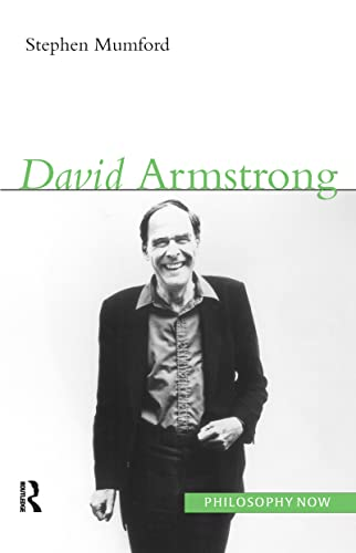 9781844651009: David Armstrong (Philosophy Now)
