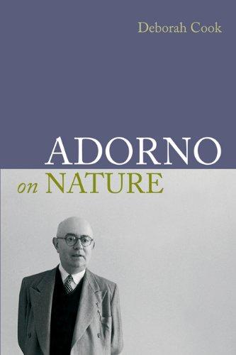 9781844652624: Adorno on Nature